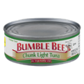 Bumble Bee Tuna Chunk Light in Oil 5oz Can