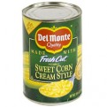 Del Monte Fresh Cut Sweet Corn Cream Style 14.7oz Can