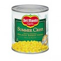 Del Monte Summer Crisp Sweet Corn Whole Kernel 11oz Can
