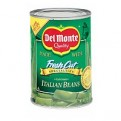 Del Monte Fresh Cut Green Beans Italian 14.5oz Can