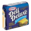 Kraft Deli Deluxe Sharp Cheddar Cheese Singles 12CT 8oz PKG
