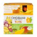 Chobani Tots Greek Yogurt Banana + Pumpkin/Mango + Spinach 4CT 3.5oz Pouches