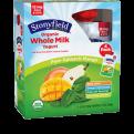 Stonyfield Whole Milk Pear-Spinach-Mango Yogurt 4PK 3.5oz Pouches
