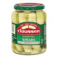 Claussen Pickles Dill Kosher Spears 24oz Jar