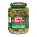 Claussen Pickles Kosher Whole 32oz Jar