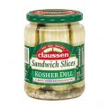 Claussen Sandwich Slices Pickles Dill Kosher 20oz Jar