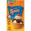 Keebler Ice Cream Bowls Waffle 10CT 4oz Box