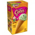 Keebler Ice Cream Cones Sugar 12CT 4oz Box
