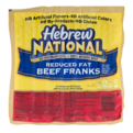 Hebrew National Beef Franks Reduced Fat 7CT 11oz PKG