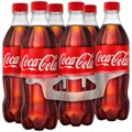 Coke Classic 6 Pack of 16.9oz Bottles
