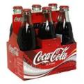 Coke Classic 6 Pack of 8oz Classic Glass Bottles