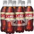 Coke Diet Caffeine Free 6 Pack of 16.9oz Bottles
