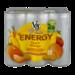V8 V-Fusion Energy Drink Peach Mango 6Pk 8oz Cans product image 1