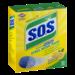 SOS Steel Wool Soap Pads Lemon 10CT Box