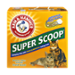 Arm & Hammer Super Scoop Cat Litter Clumping Fresh Scent 20LB Box