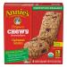 Annie's Organic Chewy Granola Bars Oatmeal Raisin 6CT 5.34oz PKG