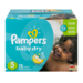Pampers Baby Dry Diapers Size 5 Big Pack 78CT PKG