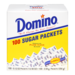 Domino Pure Cane Granulated Sugar Packets 100CT 12.5oz Box