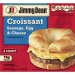 Jimmy Dean Croissant Sandwiches Sausage, Egg, and Cheese 4CT 18oz Box