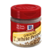 McCormick Ground White Pepper 1oz BTL