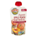 Earth's Best Organic Apple Peach Oatmeal Fruit & Grain Puree 4.2oz Pouch