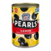 Black Pearl Olives Large Pitted 6oz Can