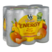 V8 V-Fusion Energy Drink Peach Mango 6Pk 8oz Cans