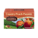 Celestial Seasonings Country Peach Passion Caffeine Free Herbal Tea Bags 20CT Box