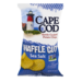 Cape Cod Kettle Cooked Waffle Cut Sea Salt Potato Chips 7oz Bag