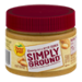 Peter Pan Simply Ground Creamy Peanut Butter 15oz Jar