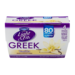 Dannon Light & Fit Greek Nonfat Yogurt Vanilla 5.3oz EA 4PK