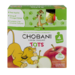 Chobani Tots Greek Yogurt Apple 4CT 3.5oz Pouches